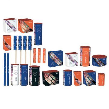 JUPITER Selection Box - 25 Fireworks