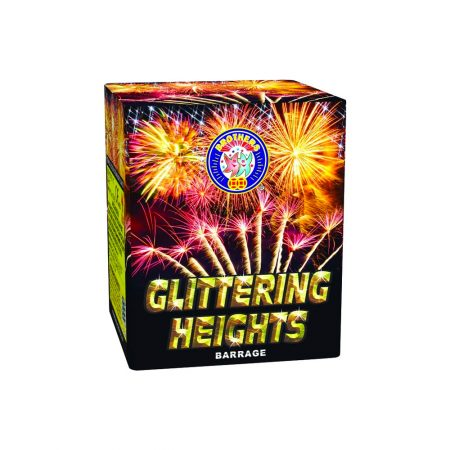 Glittering Heights Shot Cake