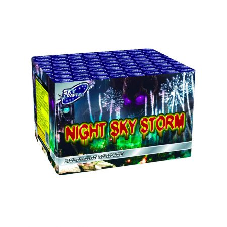 Night Sky Storm Shot Cake